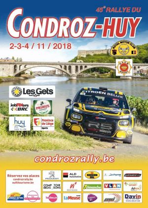 Next Event Condroz Rally 2018